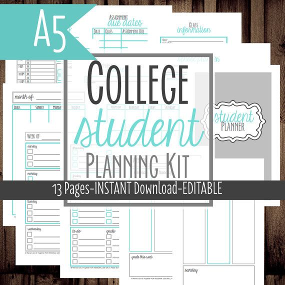 college school planners