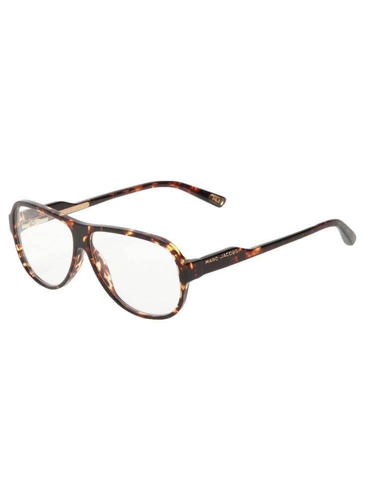 b87cbf5485 MARC JACOBS aviator frame glasses