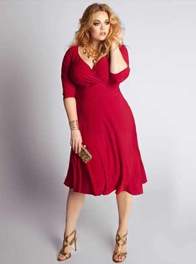 Modelos de vestidos para mujeres gordas