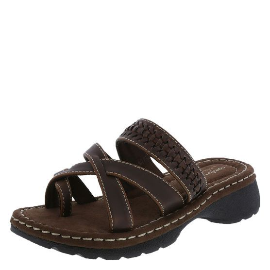 The Practical And Comfortable Ollie Sandal Features A