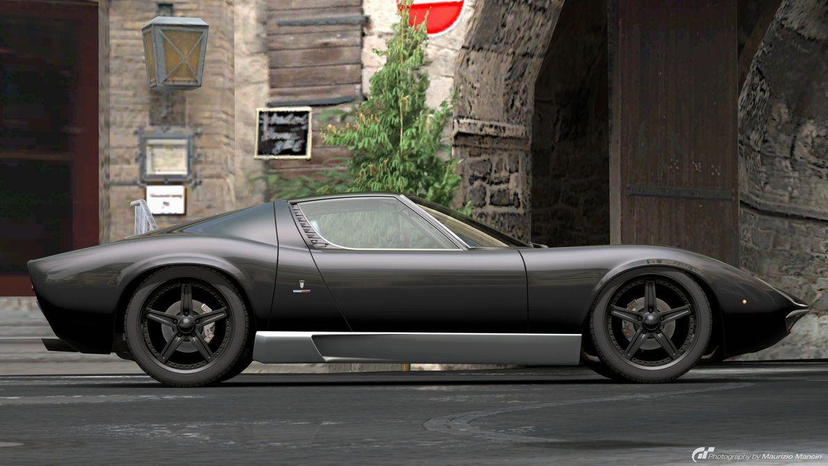 Lamborghini Miura P400 Bertone Prototype Cn 0706 1967 Classic Cars