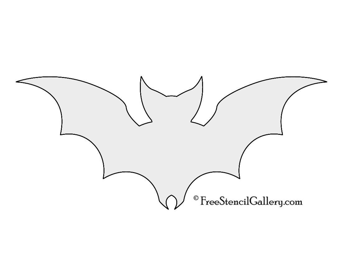 bat silhouette stencil free stencil gallery boo pinterest