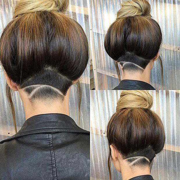 31 Trendy Undercut Styles For Bold Women Undercut Haare Undercut
