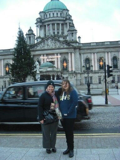 Belfast for Christmas with my daughter.  MAri Perry.