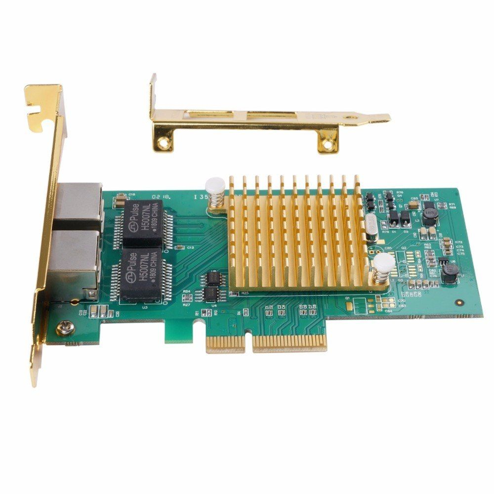 Orico 2 Port Network Card Gigabit Ethernet Pci-Express Network Card