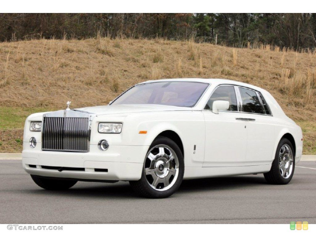 2008 Rolls Royce Phantom Drophead Coupe English White Color Http