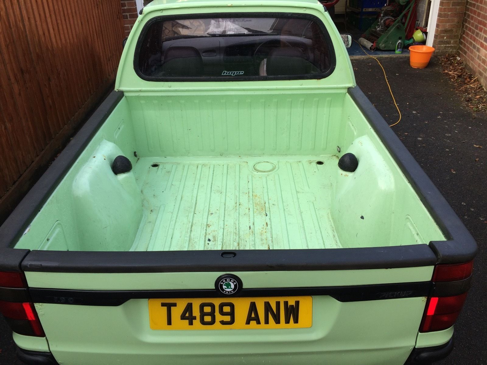 Custom looking Skoda Felicia Pickup, in good condition. MOT expires October  13th 2017. Had this for over 2 years as a daily driver and it has never let  me ...