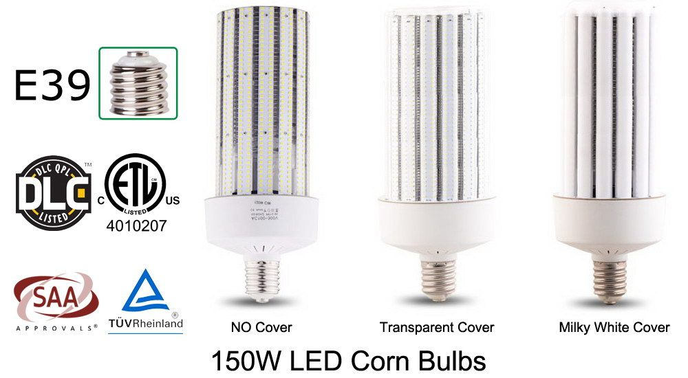 Dlc Etl Saa Tuv Certified 100w Led Corn Lamps Type Street Lamp Lamp Energy Saving Projects