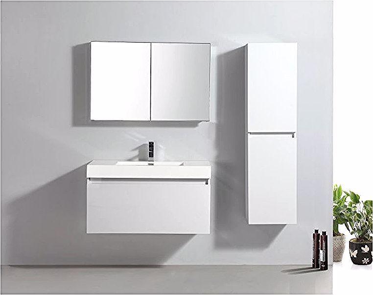 Meuble De Salle De Bain A1000 Blanc Vasque Meuble Sous Vasque Et Meuble Mural Bathroom Furniture Ikea Mattress Topper Furniture