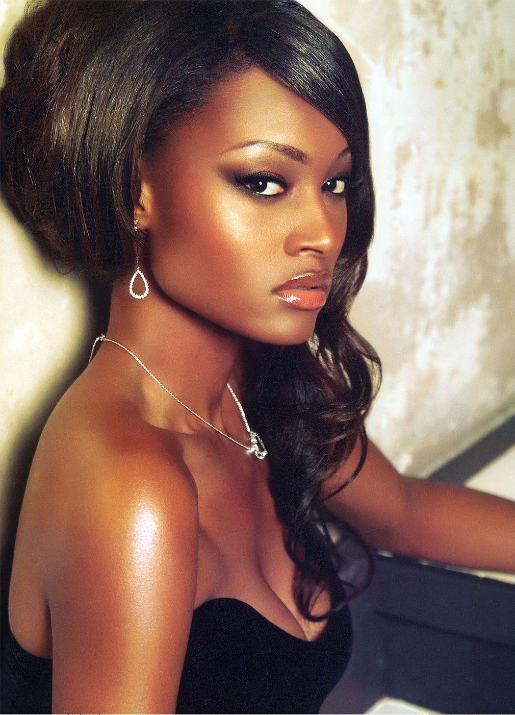Ebony beauty models