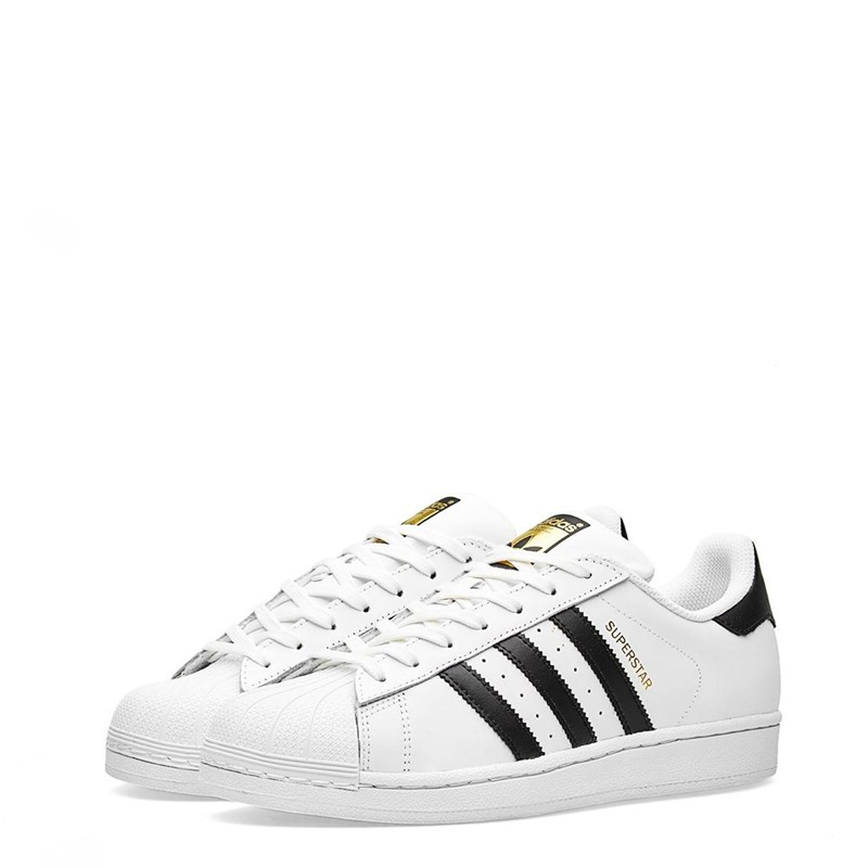 Adidas Superstar Unisex Sneakers White (UK size)