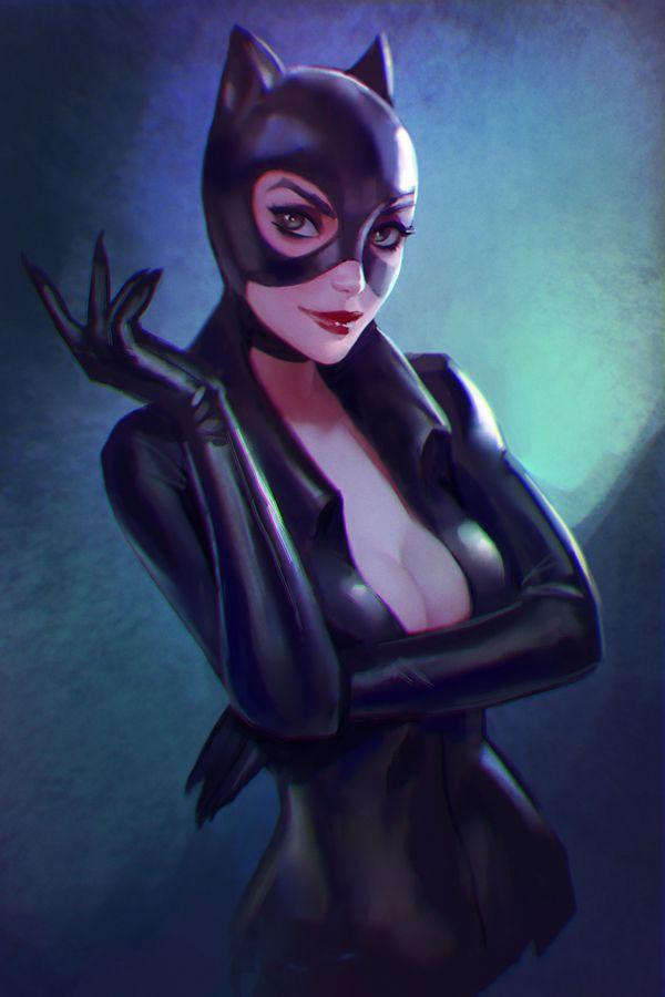 Dc Comics Fans : Dc fan arts more catwoman and superheroes ideas