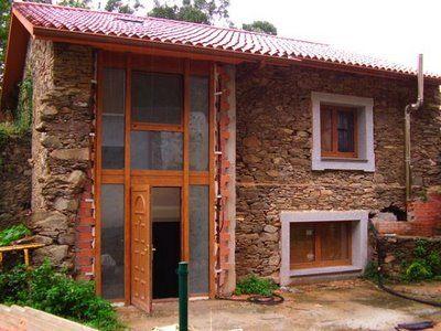 Fachadas casas rusticas caba a pinterest fachadas for Fachadas de casas estilo rustico moderno