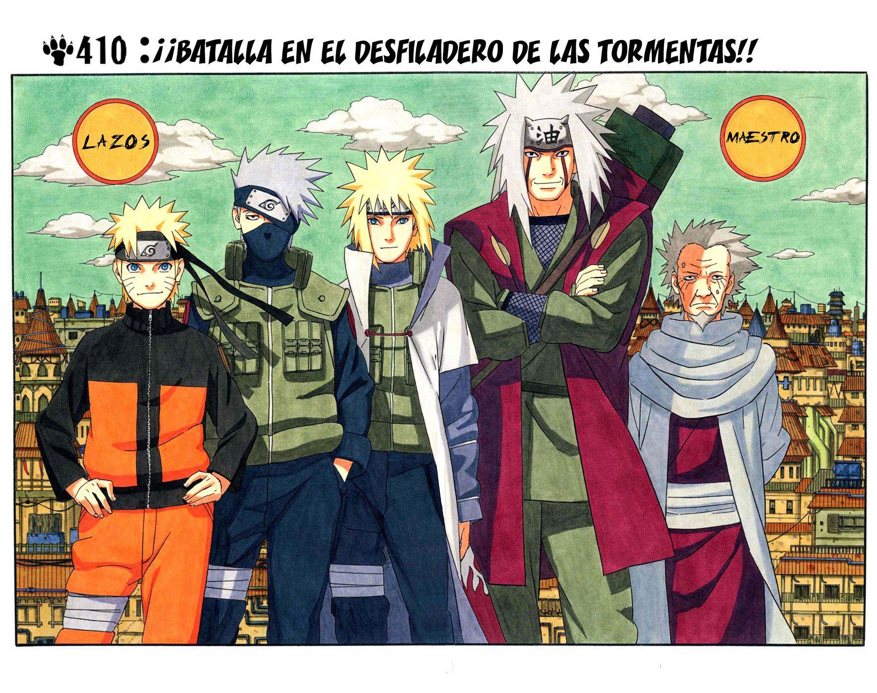Naruto Manga 410 Español Online HD Descargar Gratis