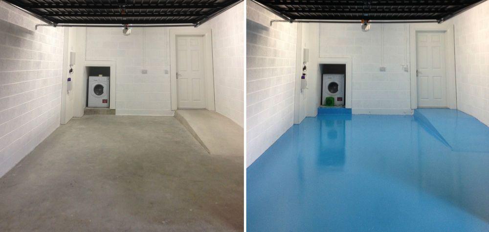 Blue C6 30m2 Long Lasting 2 Part Epoxy Resin Garage Factory Floor Paint W Primer Epoxy Floor Paint Epoxy Floor Garage Floor Paint