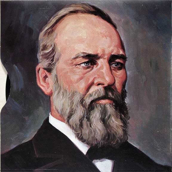 a biography of james abram garfield a president of the united states James garfield would be 177 years old this year biography james abram garfield james served as the president of hiram until the outbreak of civil war.