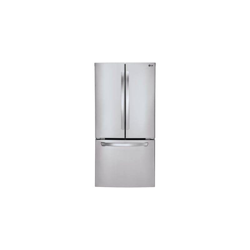 Lg Lfc24770s 33 Wide 24 Cu Ft French Door Refrigerator With