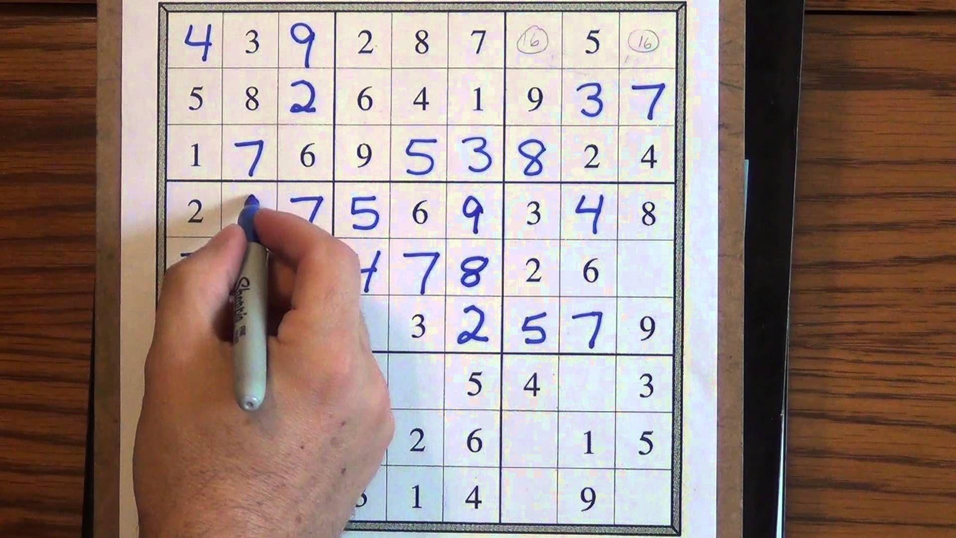 How to Solve Easy Sudoku Puzzles Sudoku puzzles, Sudoku