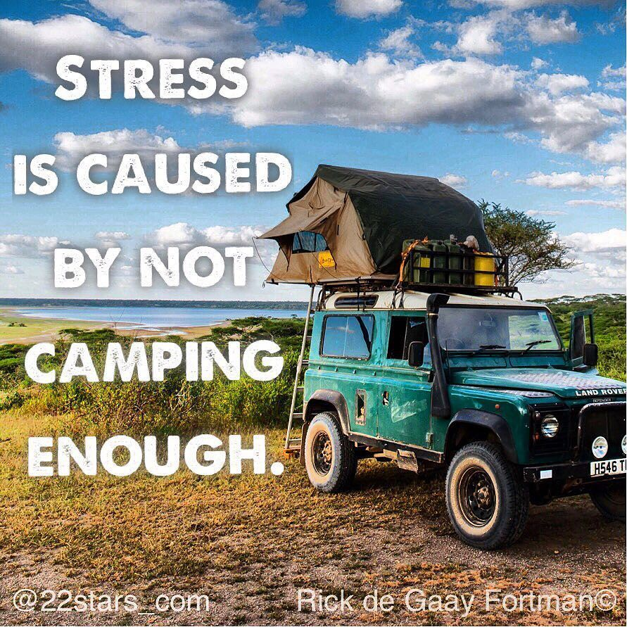 Stella Romana Airoldi On Instagram Stress Is Caused By Not Camping Enough Soooooo True After Few Weeks In The Land Rover Africa Adventure Adventure Girl