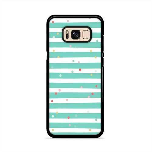 Blue Colorful Sprinkle Samsung Galaxy S8 Plus Case | Caserisa