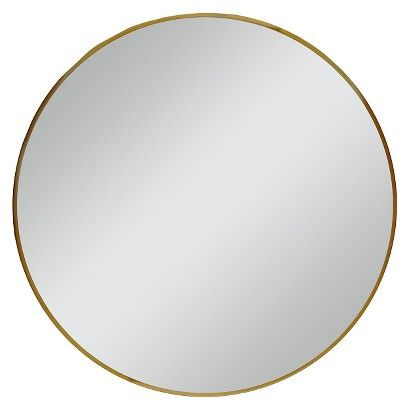 28 Round Decorative Wall Mirror Brass Project 62 Round Mirrors Round Gold Mirror Target Mirrors