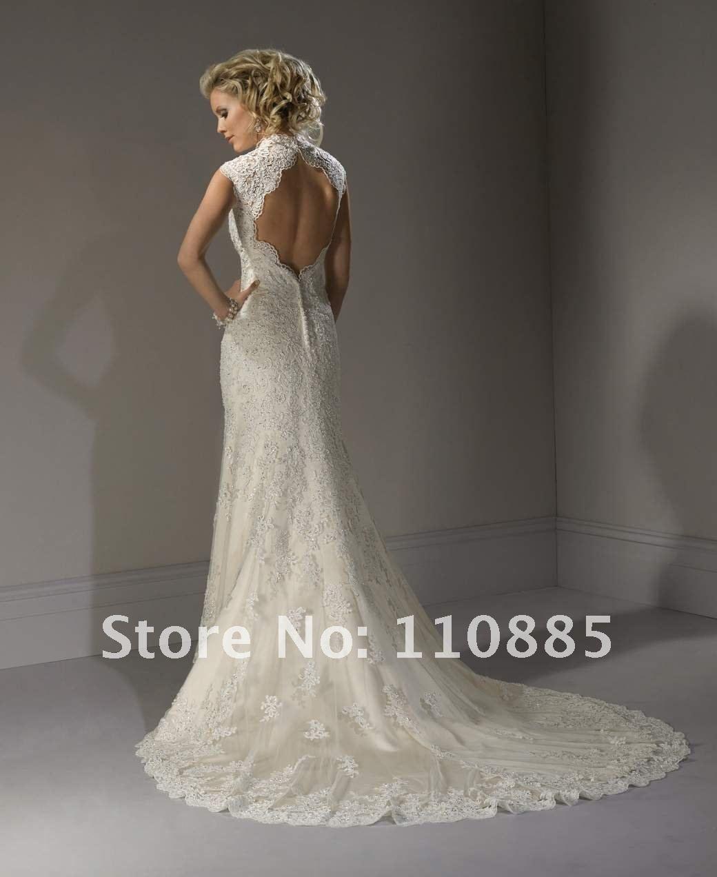 Cheap Wedding Dresses Madison Wi: Keyhole Back Wedding Dress - Google Search