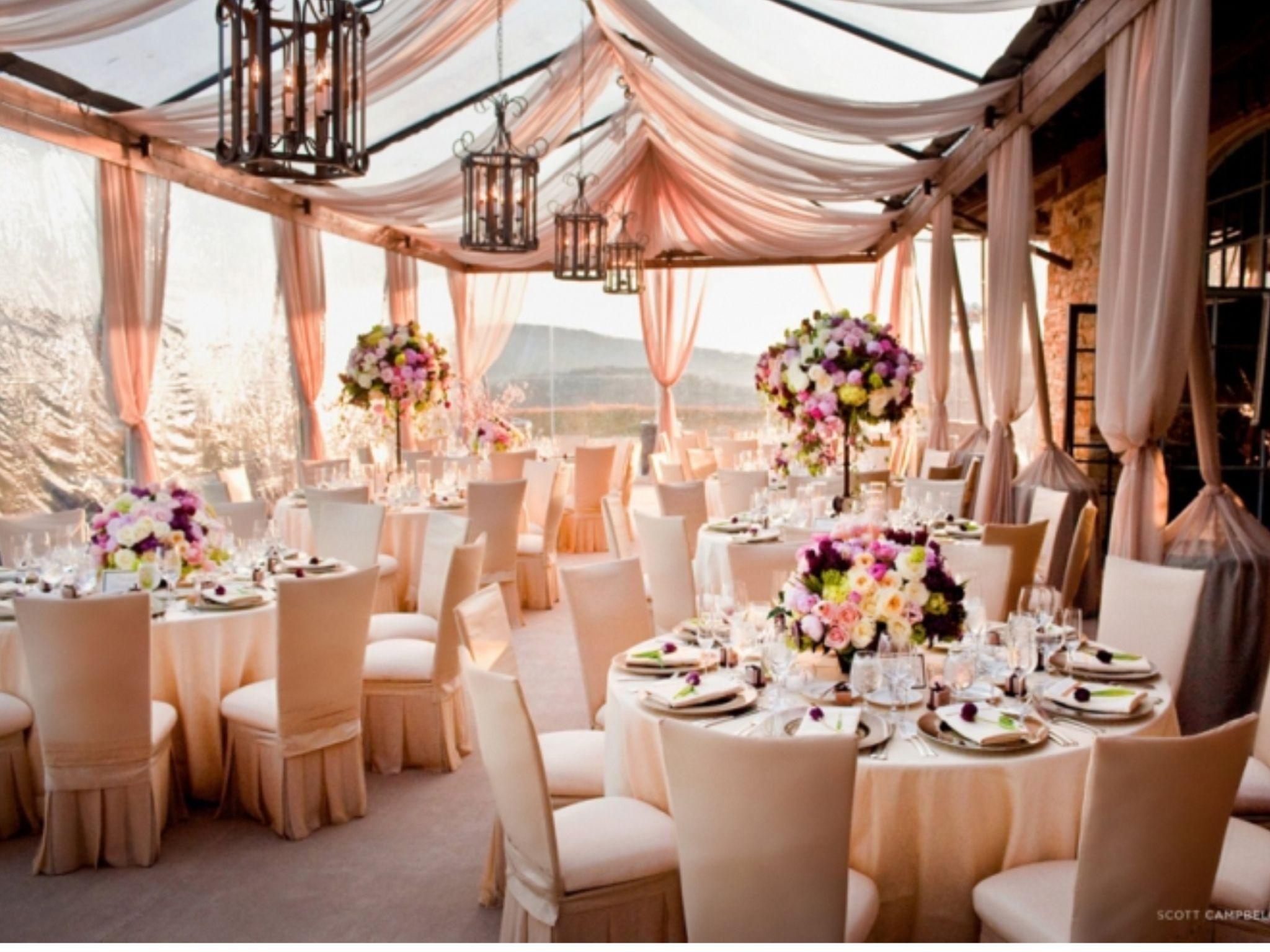 Wedding tent decoration images  Chairsautiful  Wedding Ideas  Pinterest  Weddings