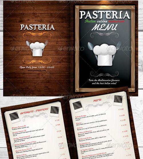 High Quality Restaurant Menu Design Templates  Psd Templates