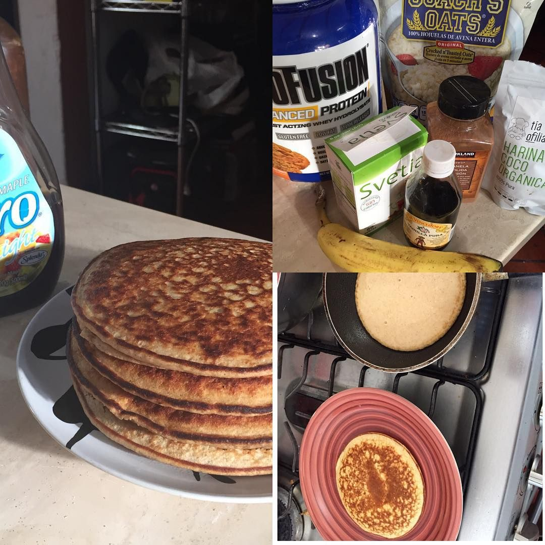 #pancakes #protein #myofusion #healthy #delicious #cinamon #breakfast #sunday #irongeneration #coachsoats