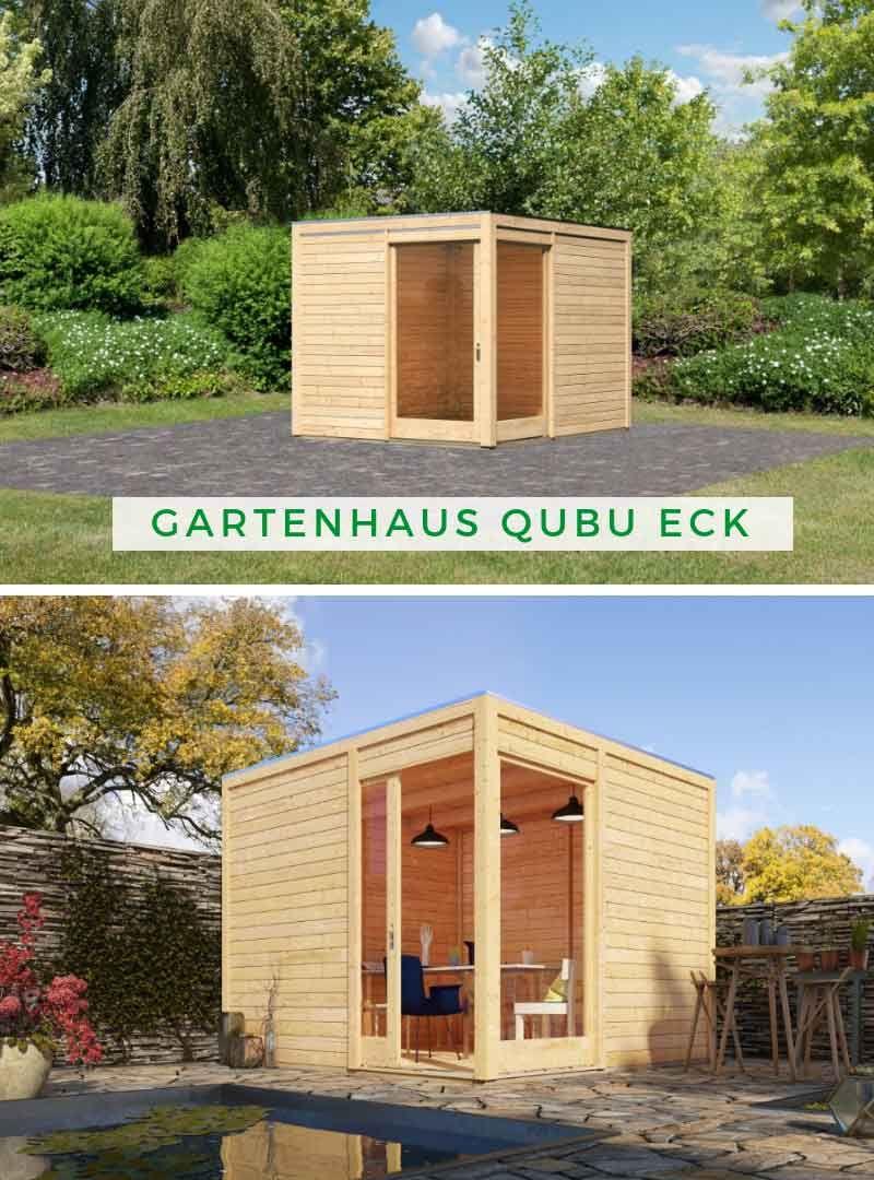 Gartenhaus Holz Karibu Gartenhaus Qubu Eck Gartenhaus Holz Gartenhaus Karibu Gartenhaus