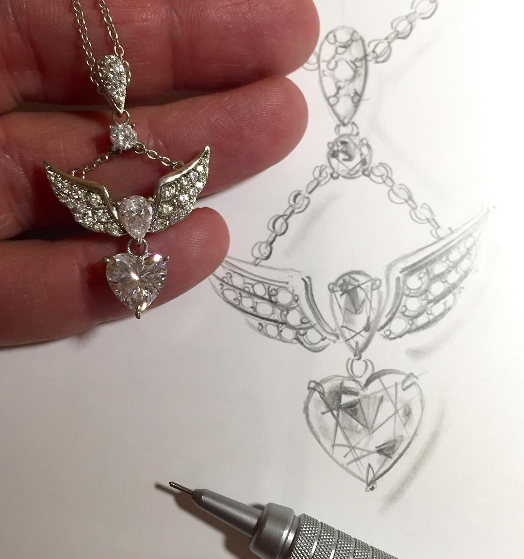 Jtv Necklaces: #wingedheart #pendant Only On Jewelry Television And Www