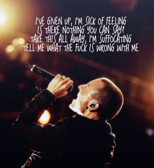Linkin Park Lyric Quotes Quotesgram Musik Song Zitate Songtexte Parks Lieder
