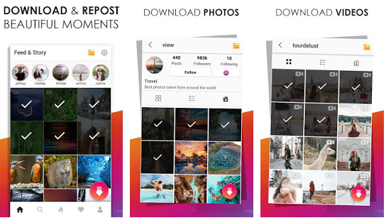 SwiftSave Downloader for Instagram v3 0 Mod Apk to use  There's no