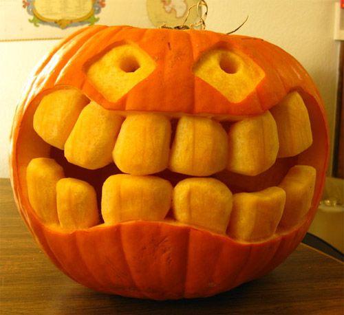 20 Amazing Halloween Pumpkin Carvings Pumpkin Carving Funny