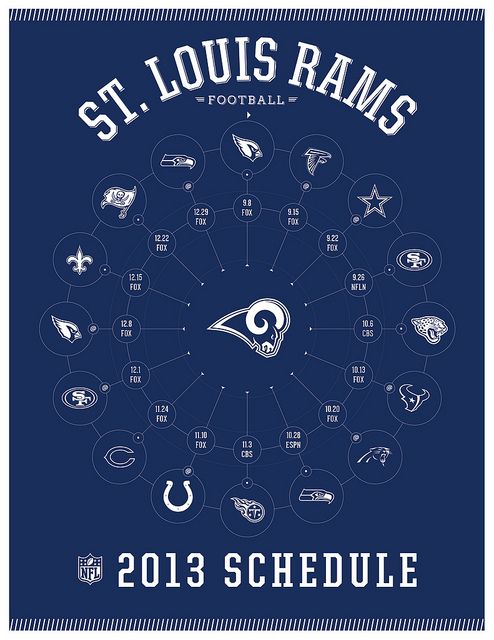 St. Louis Rams 2013 Schedule