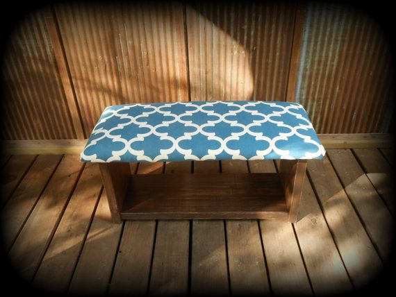 34 Inch Upholstered Top Shoe Rack Bench One By Thehenryhouse