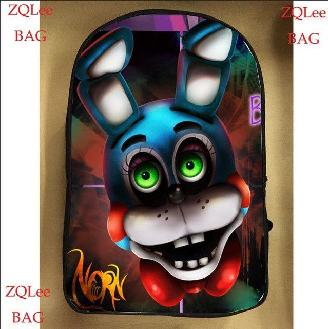 13inch Game Anime Backpack Double Layer Pre-k School Bags