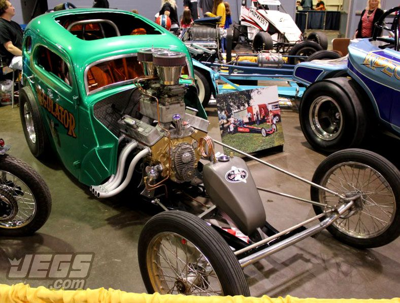 Do you dig this oldschool dragster nicknamed the