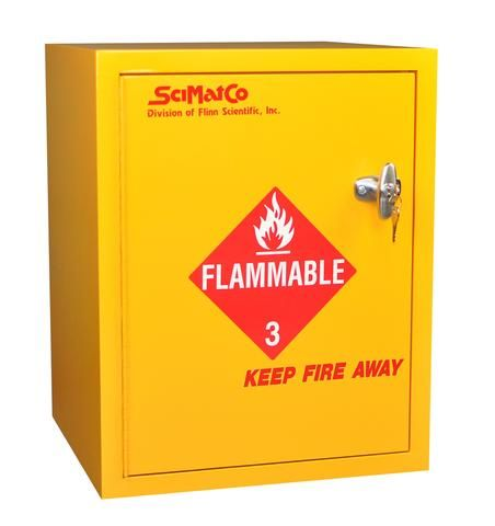 Sc8021 Bench Flammables Cabinet Small Bottles Safe
