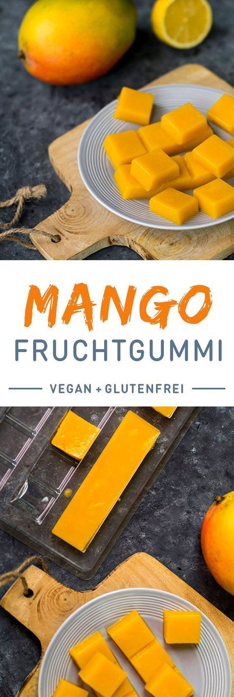 Mango Fruchtgummi zuckerfrei und Vegan | Foodreich