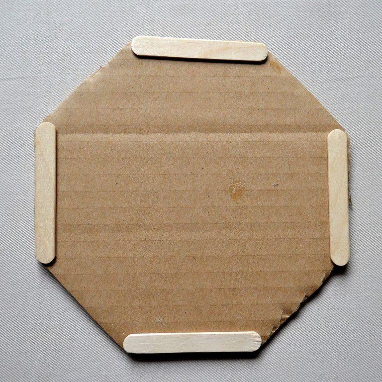 Ikat Bag: 3D Popsicle Stick Crafts I - Baskets