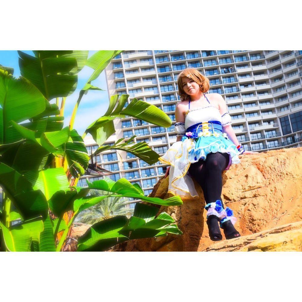 2018 Love Live Sunshine Aqours Miracle Wave Dress You Watanabe Cosplay Costume
