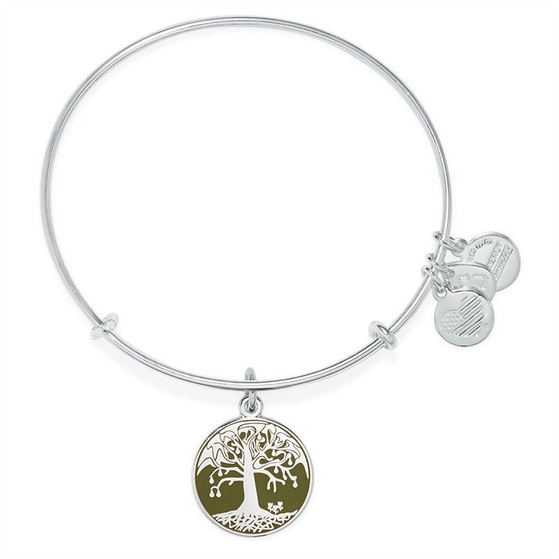 Avocado Tree Of Life Charm Bangle Alex And Ani