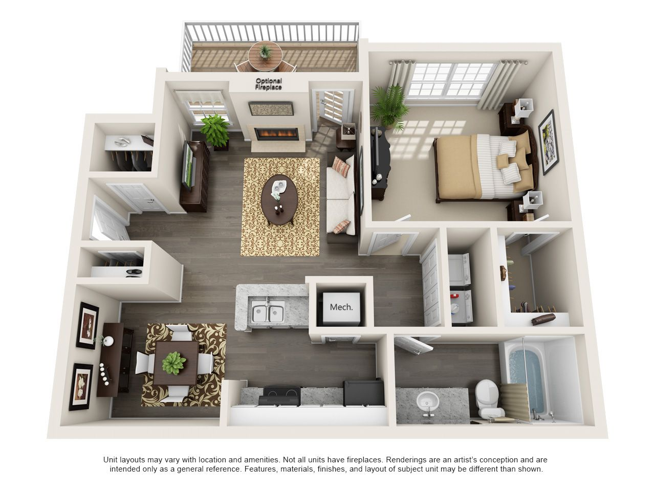 One Two And Three Bedroom Apartments In Mauldin Sc Mauldin Southcarolina Apartment Studio Apartment Floor Plans Apartment Floor Plans Apartment Layout