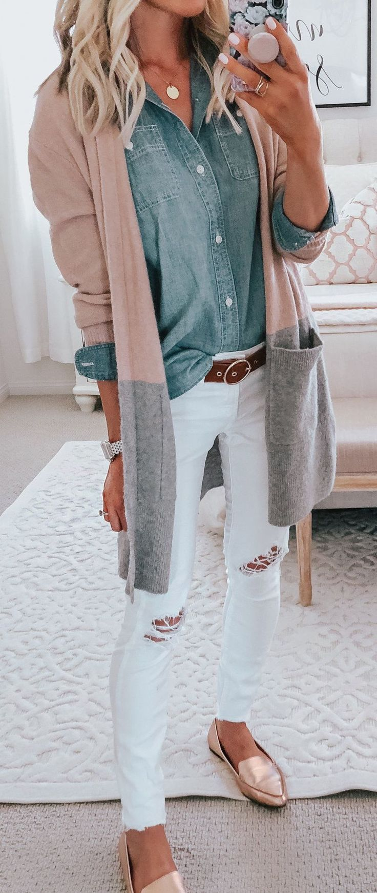 Fall Outfits With Long Cardigans 1