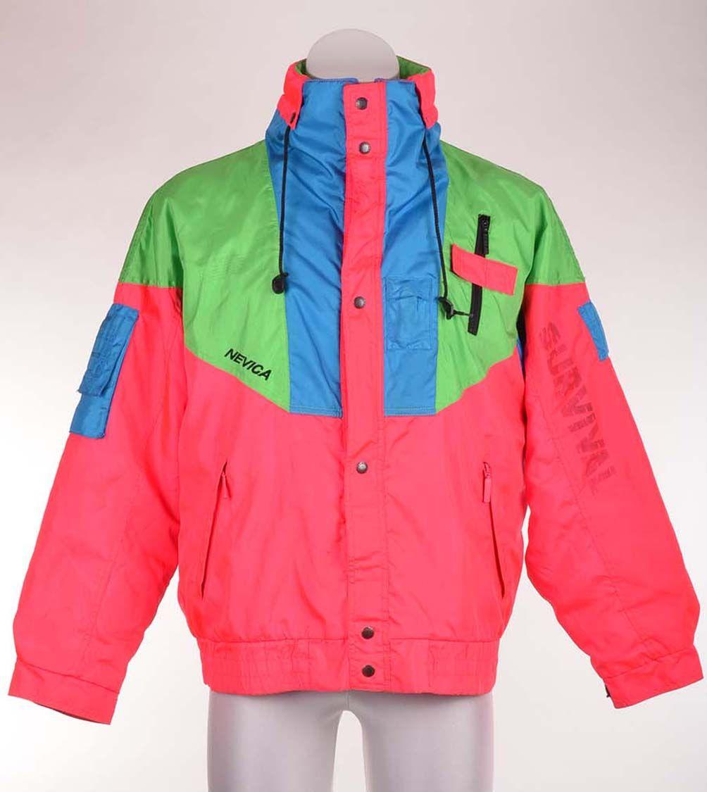 46729ca4997 retro ski jacket suit vintage piste snow snowboarding nevica ...