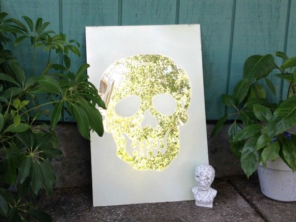 Tutorial: Frosted Skull Mirror