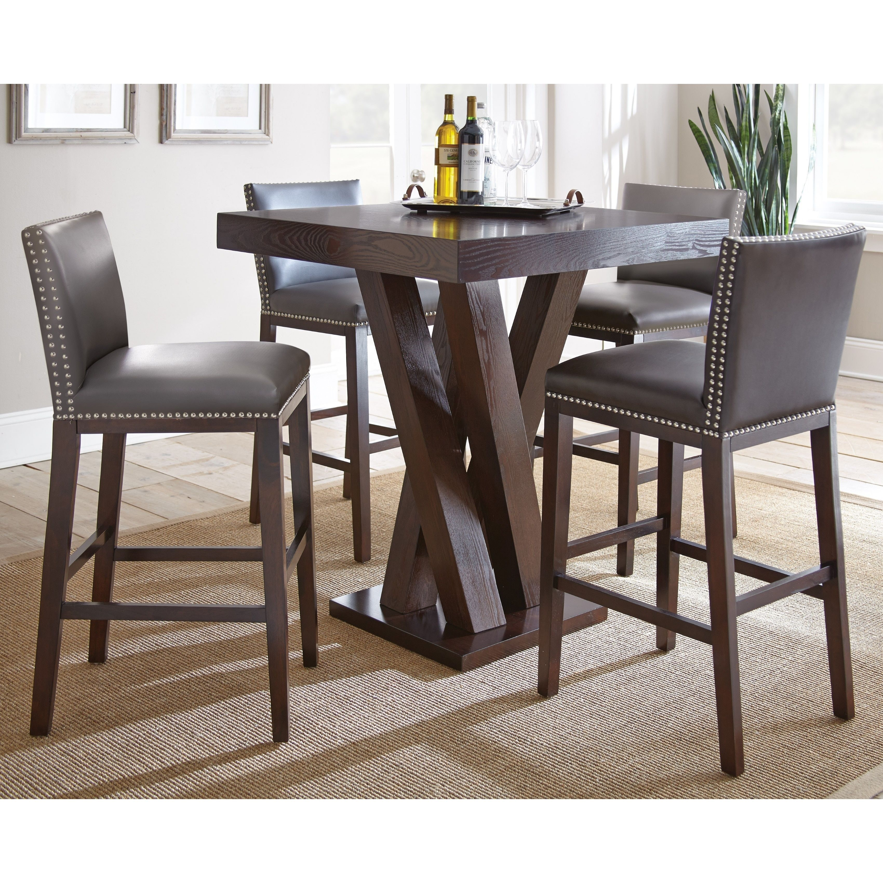 Greyson Living Tisbury 5 Piece Bar Table Set (Tisbury 5PC