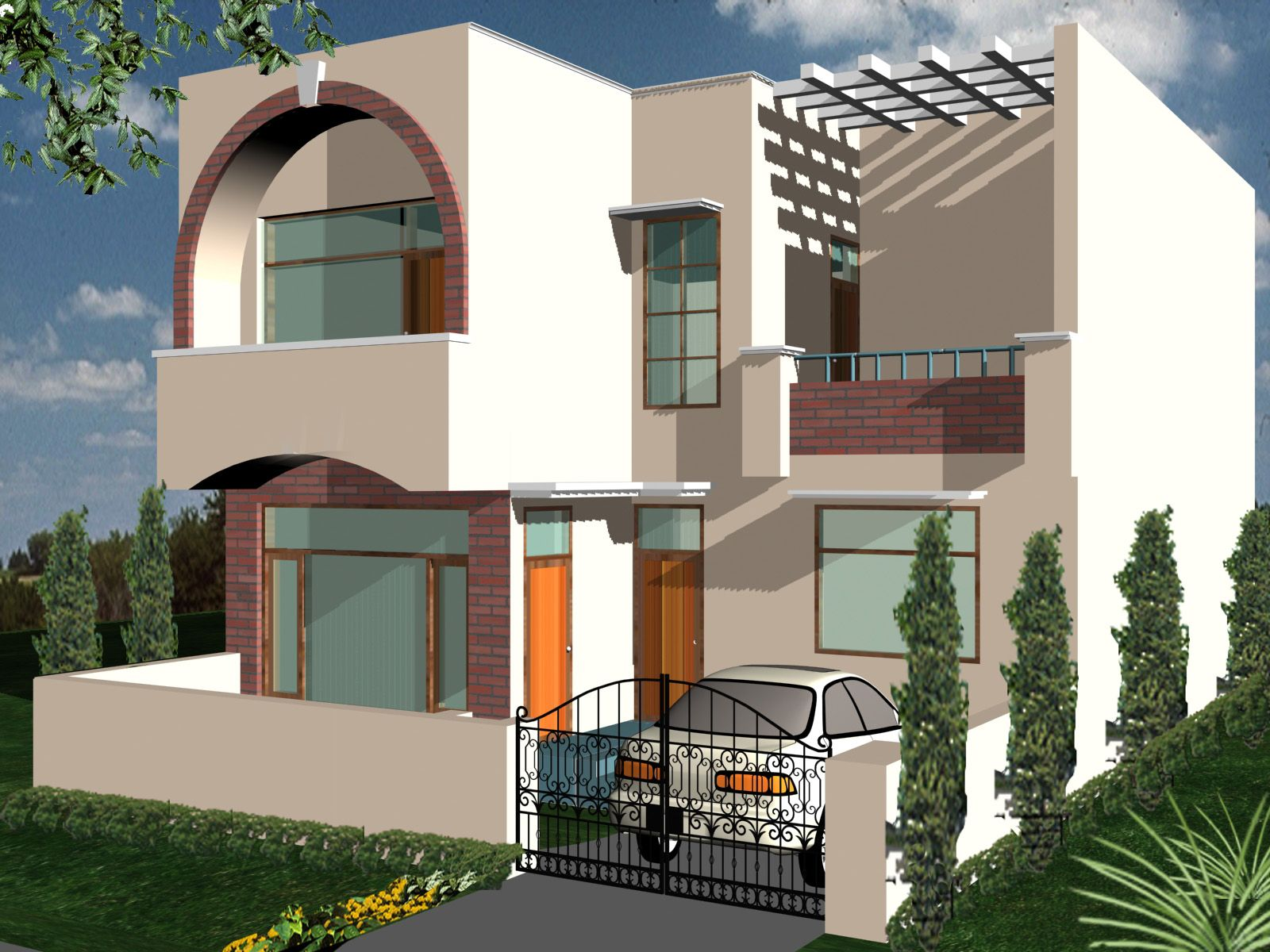 HOUSE PLAN GALLERY | ahmed | Pinterest | House elevation and House