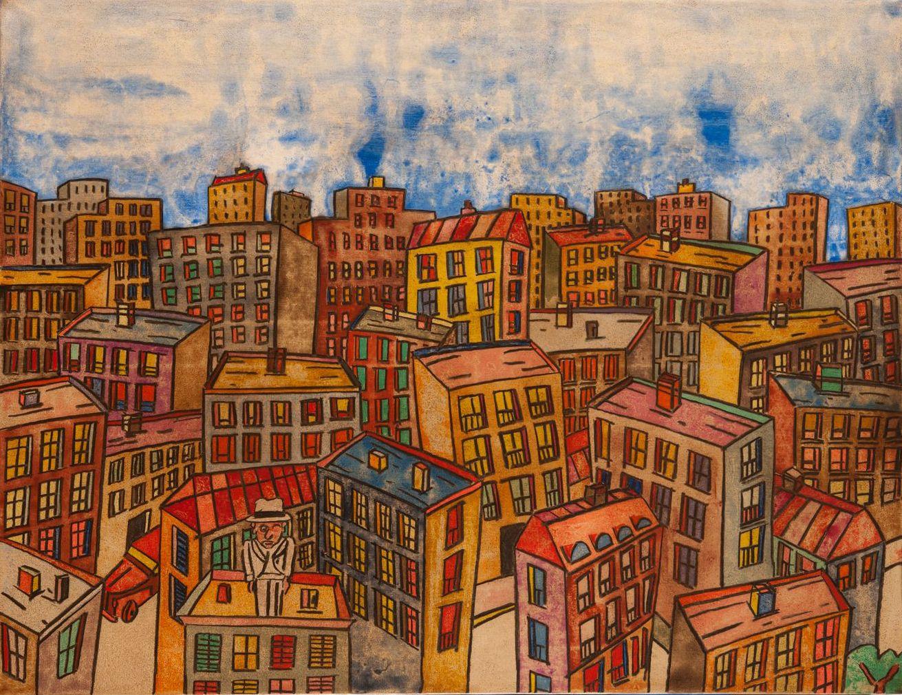 Antonio Segui Art Town & City Artiste Galerie